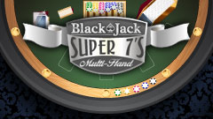 Blackjack Super 7's Multihand