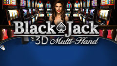 Blackjack Multi Hand 3D